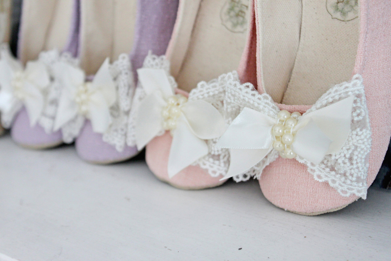 Handmade Flower Girl Shoes 12 Modern Stylish Designs