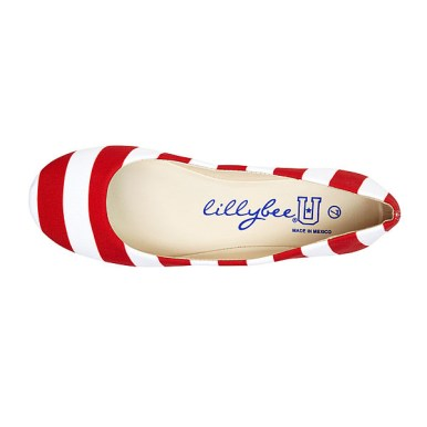 red and white lillybee shoes review 2