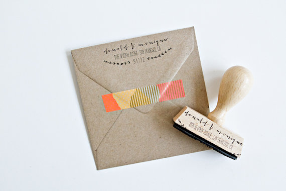 writing thank you notes - stamp by PaperSushi