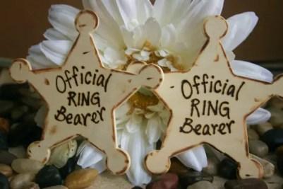 ring bearer badges