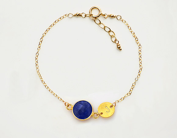 september birthstone bracelet | birthstone jewelry gifts | http://emmalinebride.com/gifts/birthstone-jewelry-gifts/