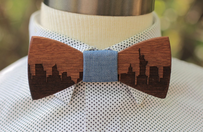 skyline_wooden_bow_tie