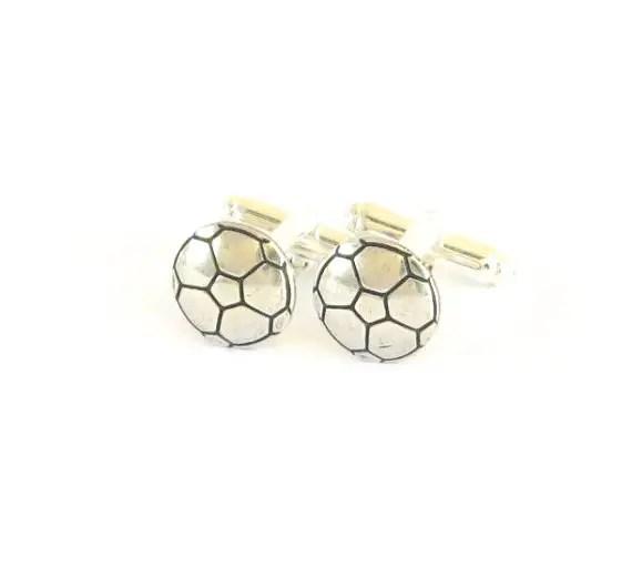 soccer cufflinks