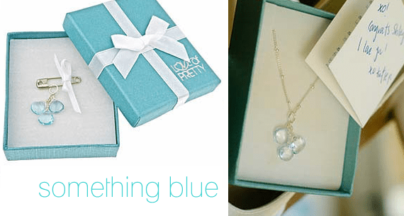 something blue jewelry - Gift Ideas for the Bride