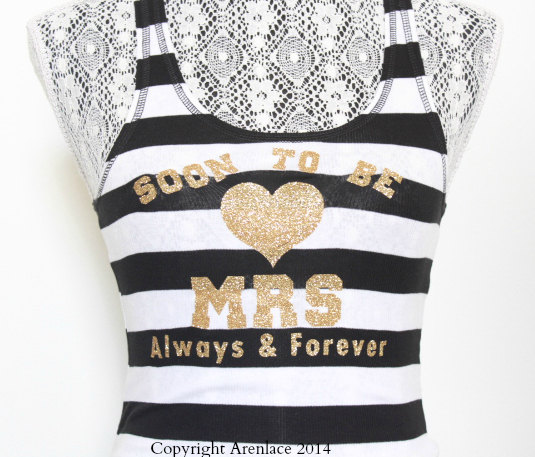 soon to be mrs tank top - Gift Ideas for the Bride
