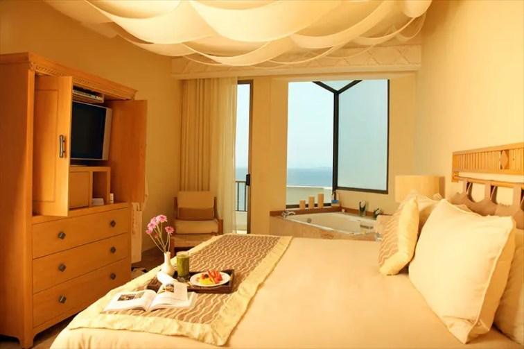 suite with ocean views
