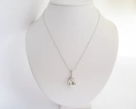 swarovski bridal jewelry - necklace