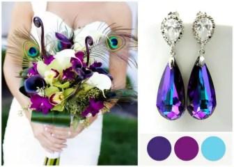 swarovski crystal earrings