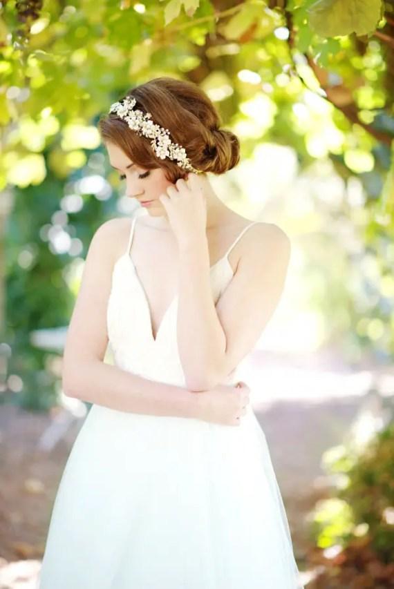 wedding headband | 8 Alternative Wedding Veil Ideas from Tessa Kim