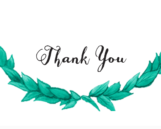 Helpful thank you card generator using your choice of fonts, colors, and styles | by Basic Invite | order cards weddings | http://emmalinebride.com/planning/order-cards-weddings/