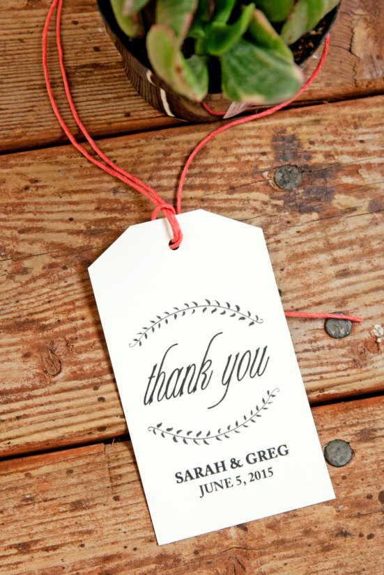 ... tags via http://emmalinebride.com/favors/handmade-wedding-favor-tags