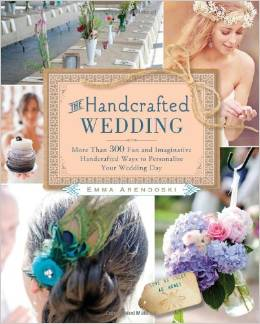 the handcrafted wedding book via best wedding resources
