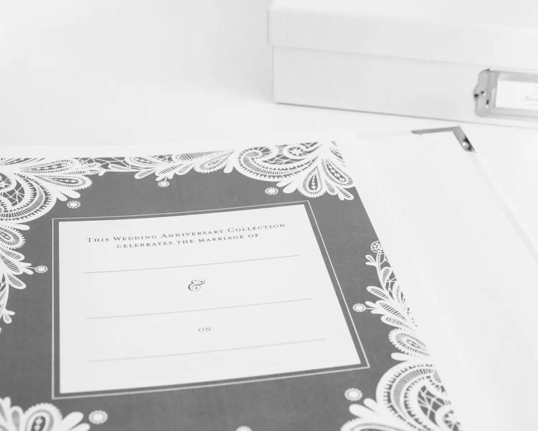 the wedding anniversary book - photo three