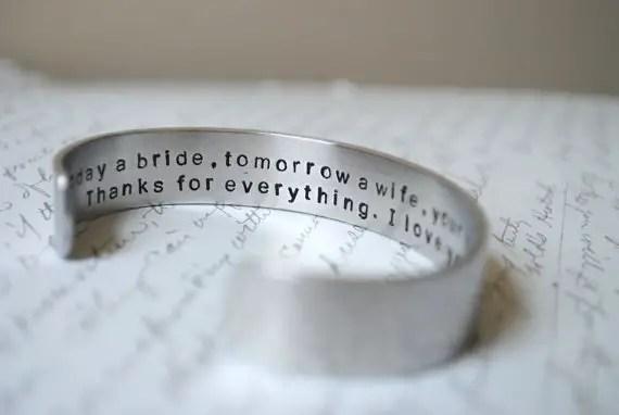 Wedding Jewelry for Mom - today a bride, tomorrow a wife (by berkey designs)