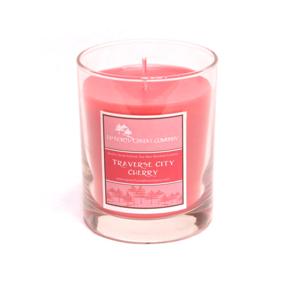 How to Welcome Guests to a Wedding - traverse city cherry candle by up north candle co.