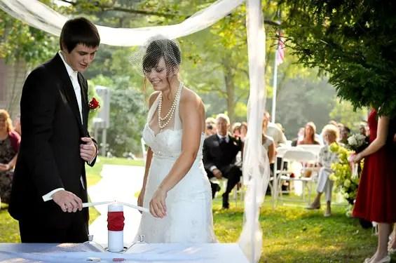 Unity Candle Ceremony (photo: liv hefner photography) - Unity Ceremony Ideas