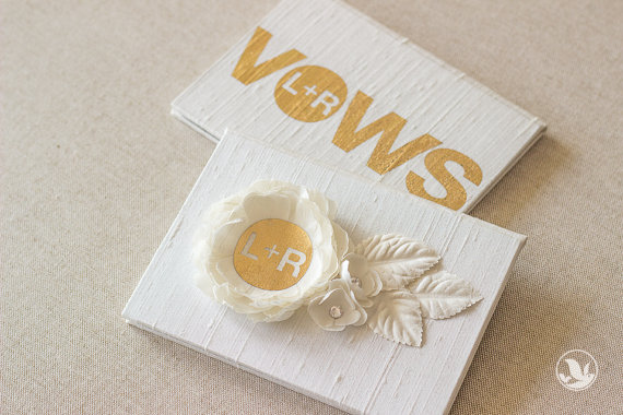 vow book - Gift Ideas for the Bride
