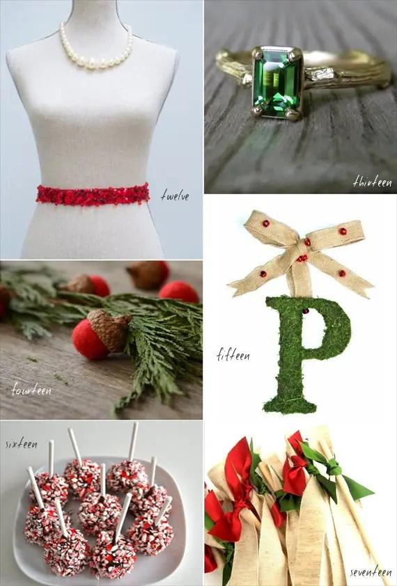 22 amazingly festive christmas wedding ideas emmaline bride wedding accessories christmas wedding ideas junglespirit Gallery