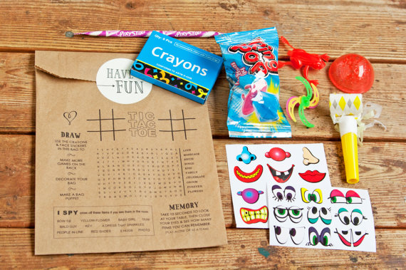 wedding favor bags for kids