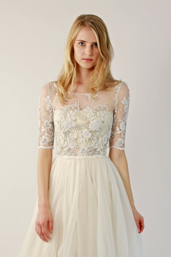 wedding gown separates by leanimal