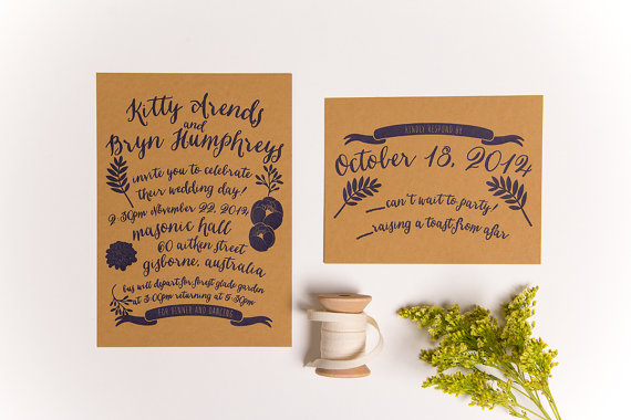 wedding invitation garden via 10 Amazing Handmade Paper Decorations