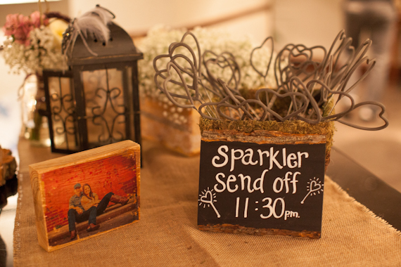 7 Wedding Sparkler Mistakes to Avoid via EmmalineBride.com - photo by matt martin