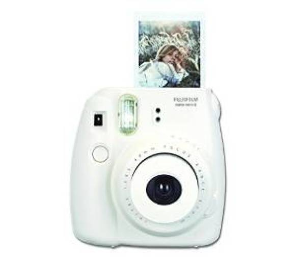 Instant Photo Camera in White