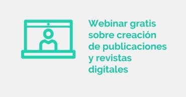 Webinar creación revistas digitales