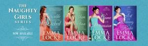 Emma Locke The Naughty Girls Series