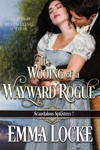 Book Cover: The Wooing of a Wayward Rogue
