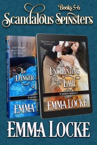 Book Cover: Scandalous Spinsters (Books 5-6) Boxed Set