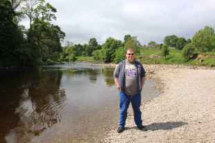 Cameron at Bolton Abbey
