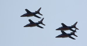 Patrouille de France at Waddington air show 2013