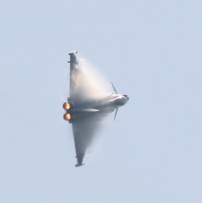 RAF Typhoon at Waddington air show 2013