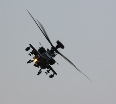 Apache at Waddington Air Show 2013