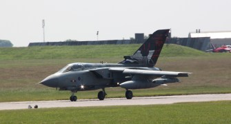 Tornado GR4 at Waddington Air Show 2013