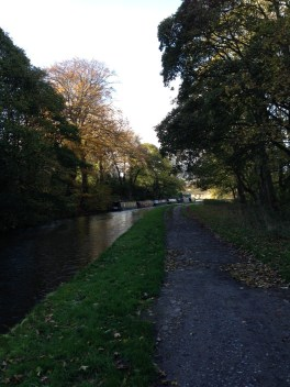 Canal boats at Apperley Bridge