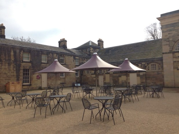 Courtyard at Nostell Priory