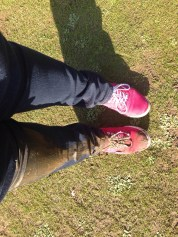 Oops. Should have worn my walking boots!