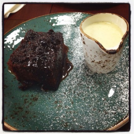 Sticky Toffee Pudding at The Tetley