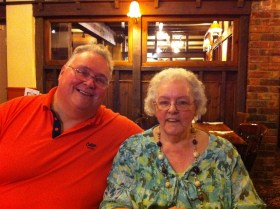 Grandma and Uncle Alan