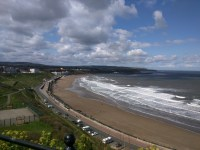 View from the top of Scarborough Castle