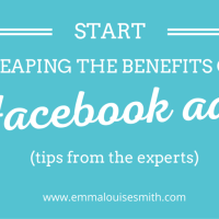 Start reaping the benefits of Facebook advertising: Tips from the experts