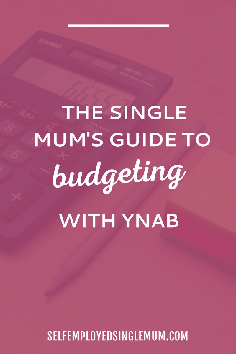 The single mum's guide to budgeting with YNAB | How to use YNAB, budget with YNAB, YNAB categories, YNAB tips, track your spending with YNAB, budgeting printable, budgeting tips, save money, get out of debt