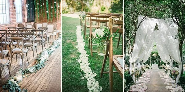 Top 10 Wedding Aisle Decoration Ideas To Steal