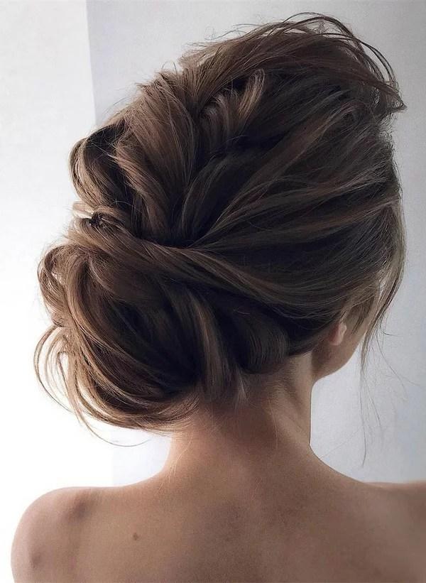 12 So Pretty Updo Wedding Hairstyles From TonyaPushkareva