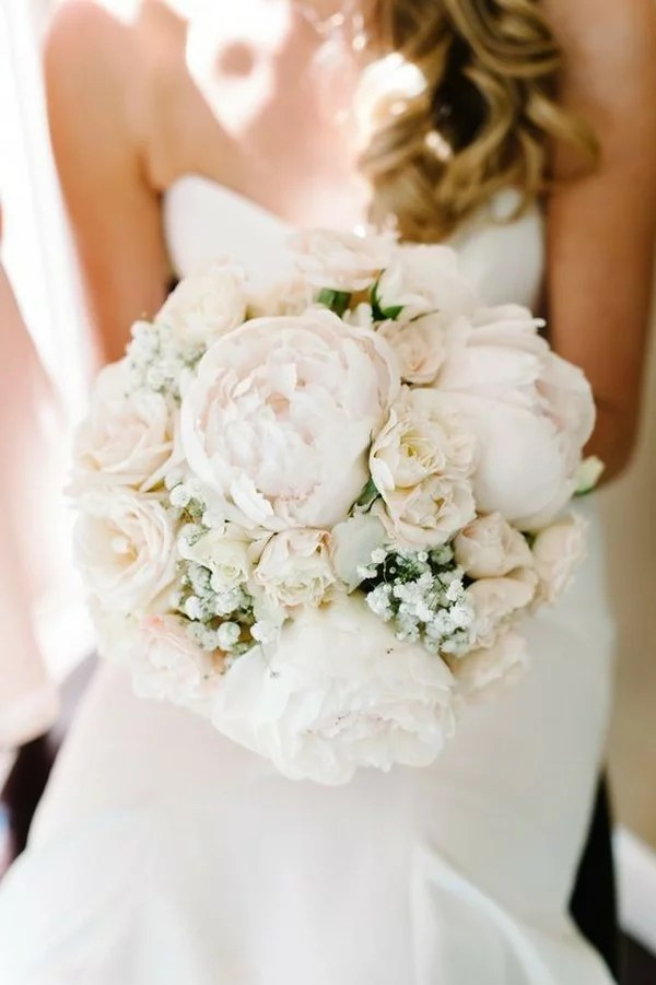 Top 15 Blush Pink Wedding Bouquets For Spring 2018 Page