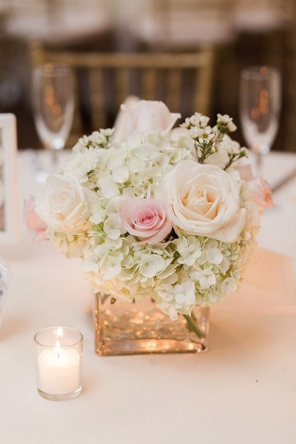 20 Elegant Wedding Centerpieces With Candles For 2018