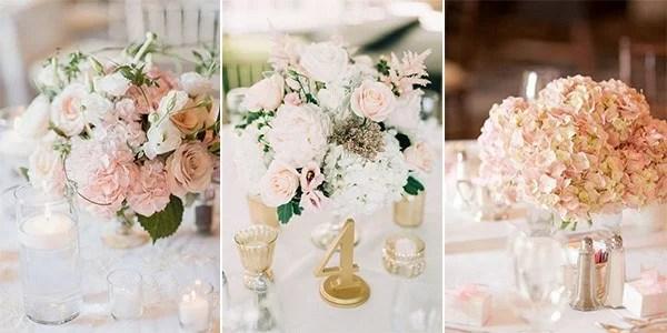 18 Elegant Blush Wedding Centerpieces For Your Big Day
