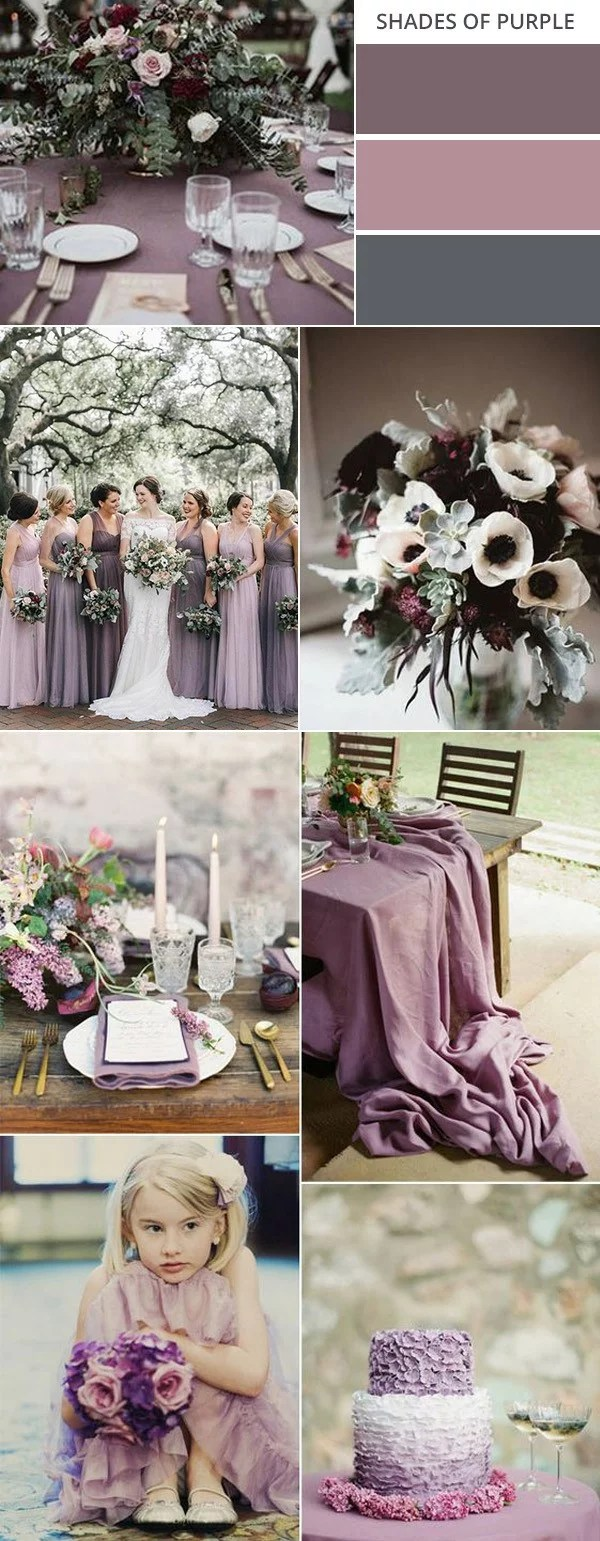 Top 10 Gorgeous Fall Wedding Color Palettes 2021